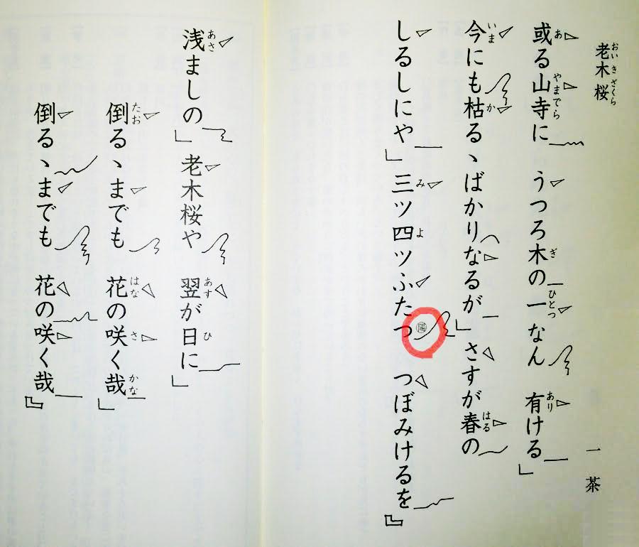 老木桜(小林一茶)